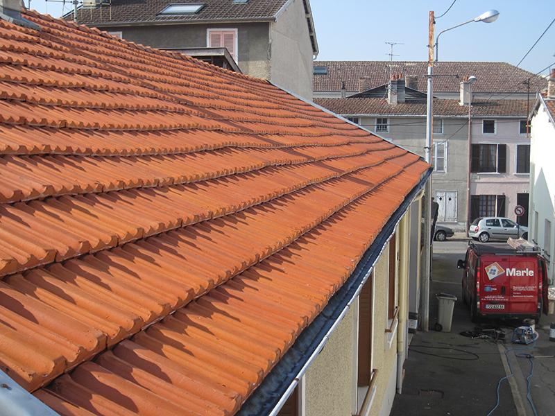 demoussant toiture excellent with demoussant toiture free nettoyage et dmoussage de toiture du. Black Bedroom Furniture Sets. Home Design Ideas